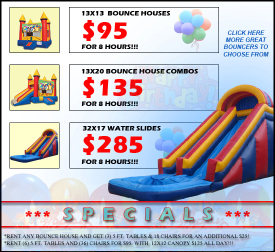 Sky Jumpers Bounce Houses Serving Las Vegas, North